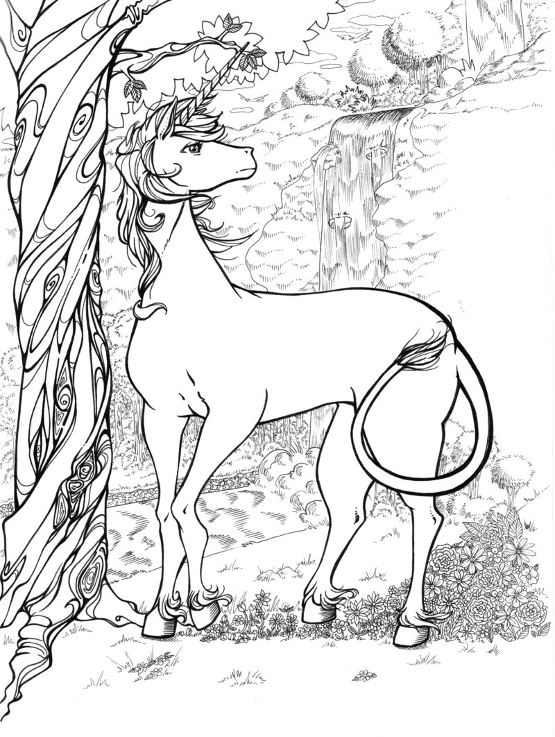 coloring pages of unicorns detailed unicorn coloring pages at getcoloringscom free unicorns of coloring pages