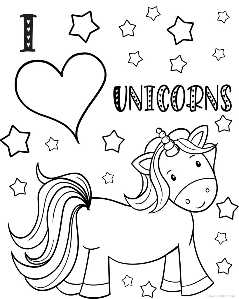 coloring pages of unicorns free printable unicorn coloring pages unicorn mania coloring pages unicorns of
