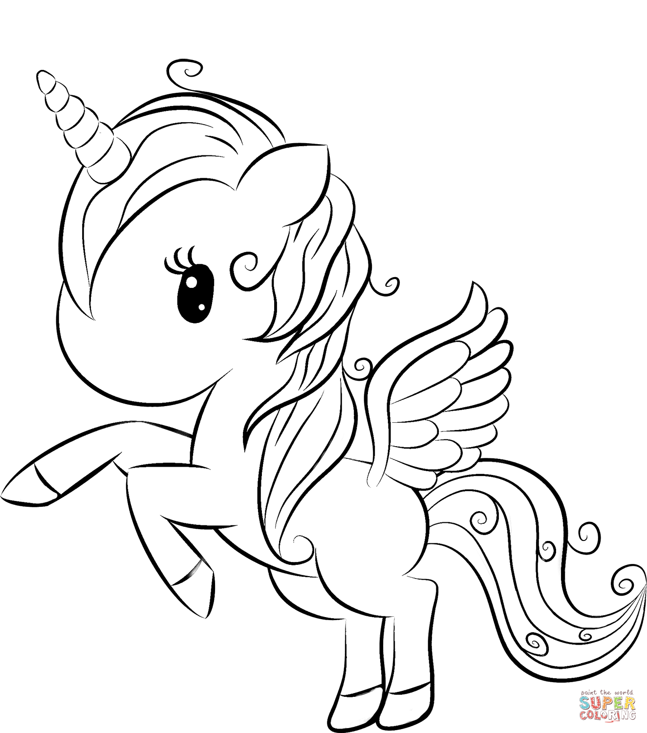 coloring pages of unicorns free printable unicorn coloring pages winged 101 worksheets of pages unicorns coloring