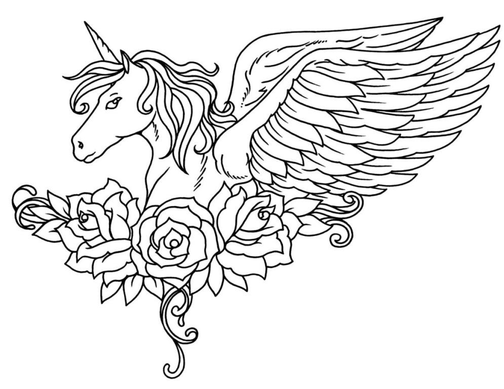 coloring pages of unicorns top 25 unicorn coloring pages for girls home family unicorns of pages coloring
