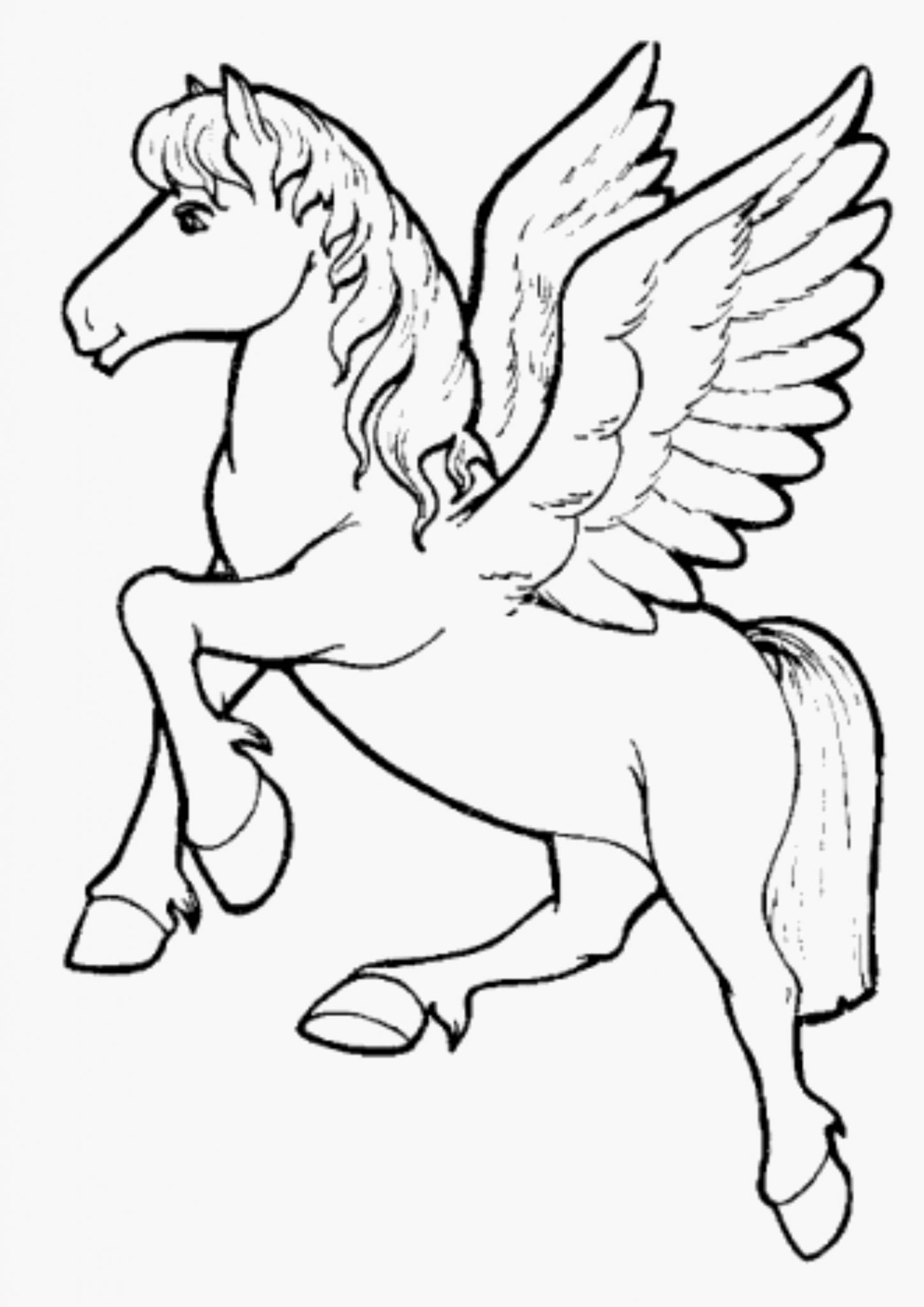 coloring pages of unicorns unicorn coloring page for kids stock illustration of pages coloring unicorns