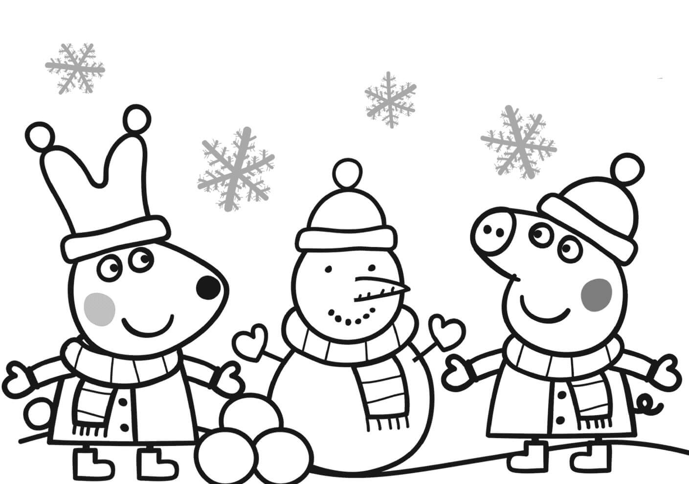 coloring pages peppa pig peppa pig coloring pages to print for free and color pig peppa coloring pages