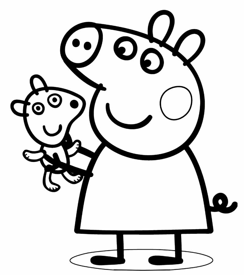 coloring pages peppa pig peppa pig family coloring pages coloring home peppa pig coloring pages