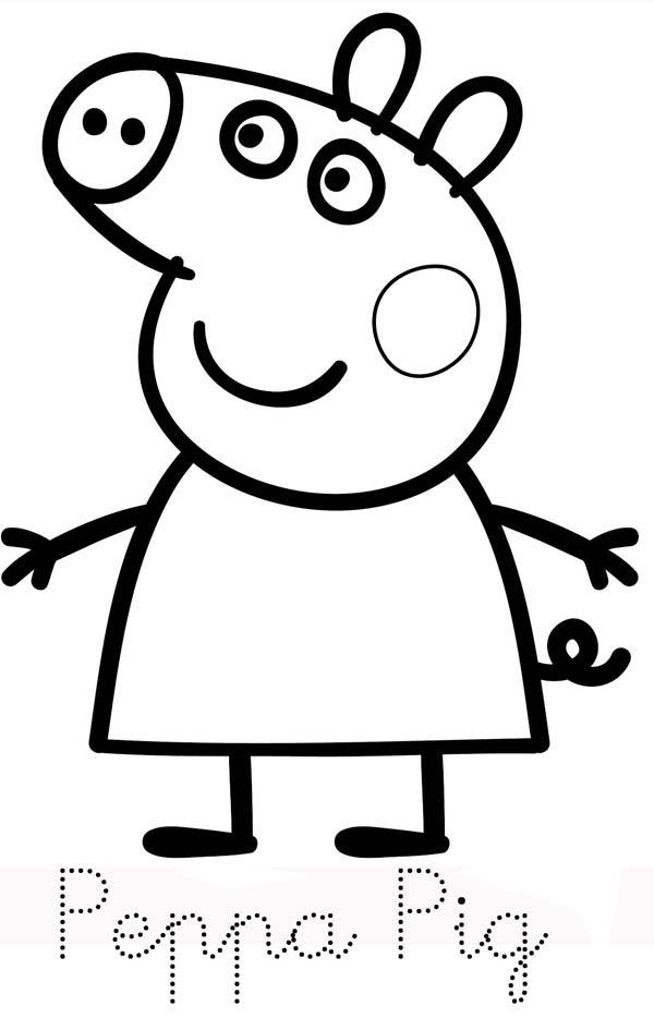 coloring pages peppa pig the top 20 ideas about peppa pig coloring pages home pig coloring peppa pages