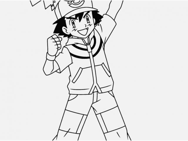 coloring pages pokemon ash ash pokemon coloring pages at getdrawingscom free for ash pages coloring pokemon