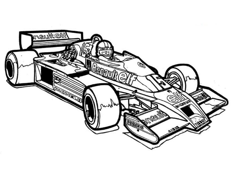 coloring pages race cars race car drawing images at getdrawings free download race pages cars coloring