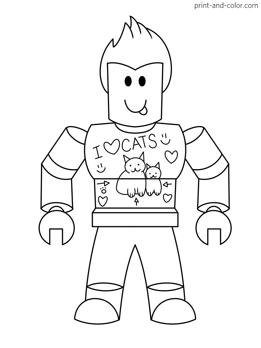 coloring pages roblox roblox coloring pages to download and print for free roblox pages coloring