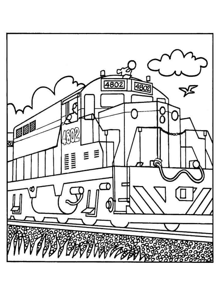coloring pages trains freight train coloring pages at getdrawings free download trains coloring pages