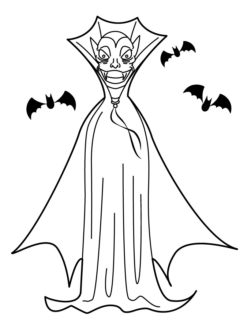 coloring pages vampire little vampire coloring page free clip art pages coloring vampire