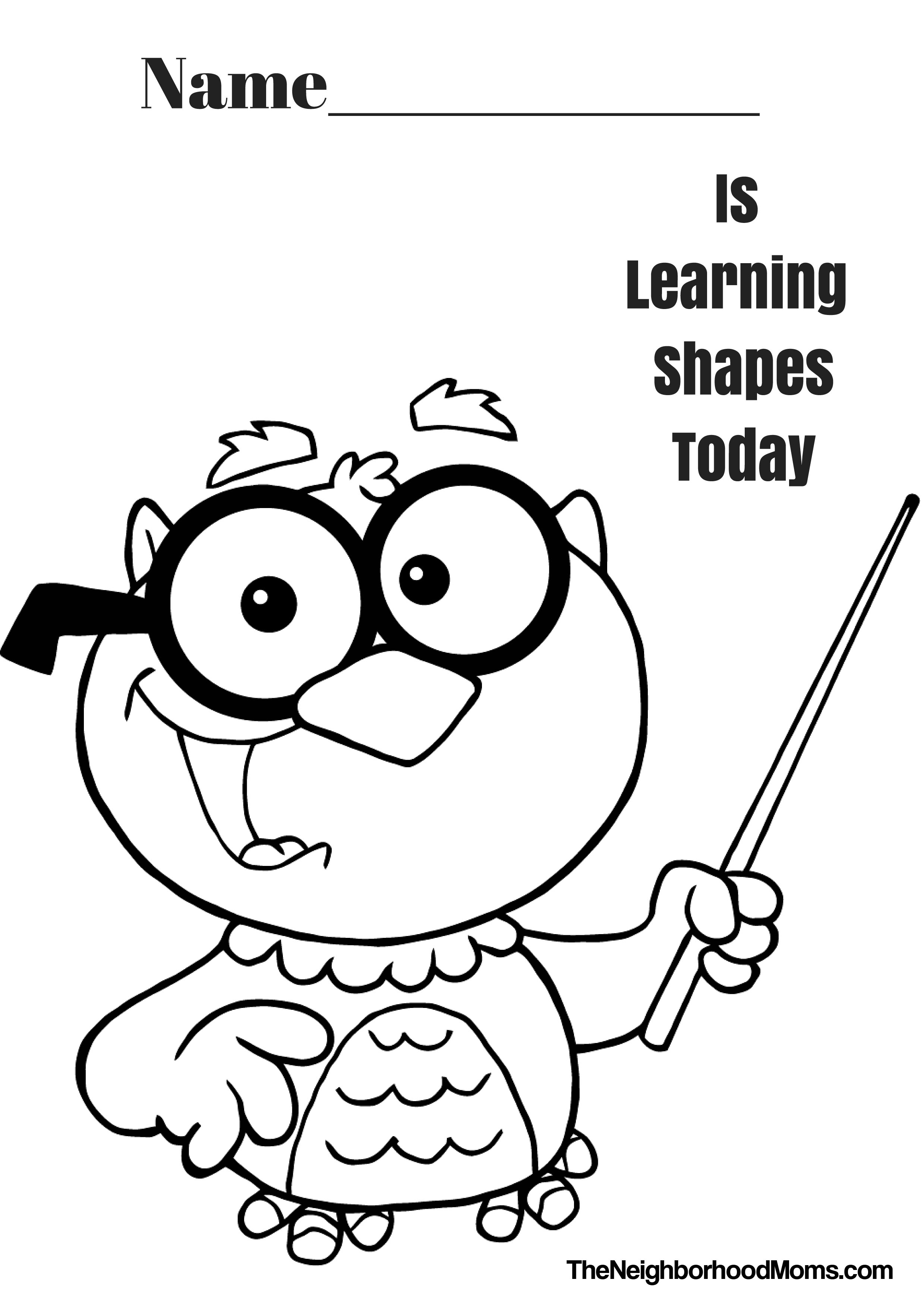 coloring pages with shapes free printable shapes coloring pages for kids with shapes coloring pages