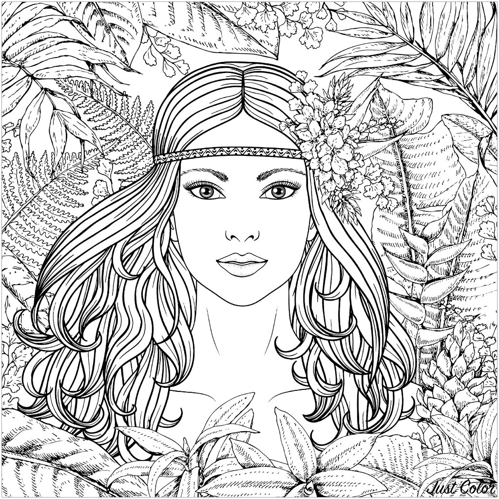 coloring pages women girls face free coloring pages women pages coloring
