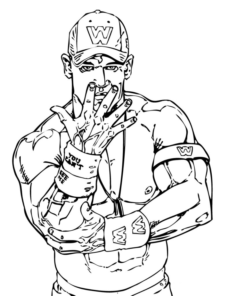 coloring pages wwe free printable world wrestling entertainment or wwe wwe pages coloring