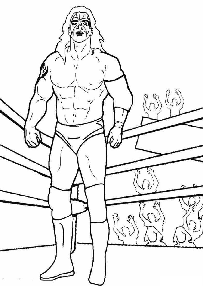 coloring pages wwe the best free wwe drawing images download from 614 free pages wwe coloring