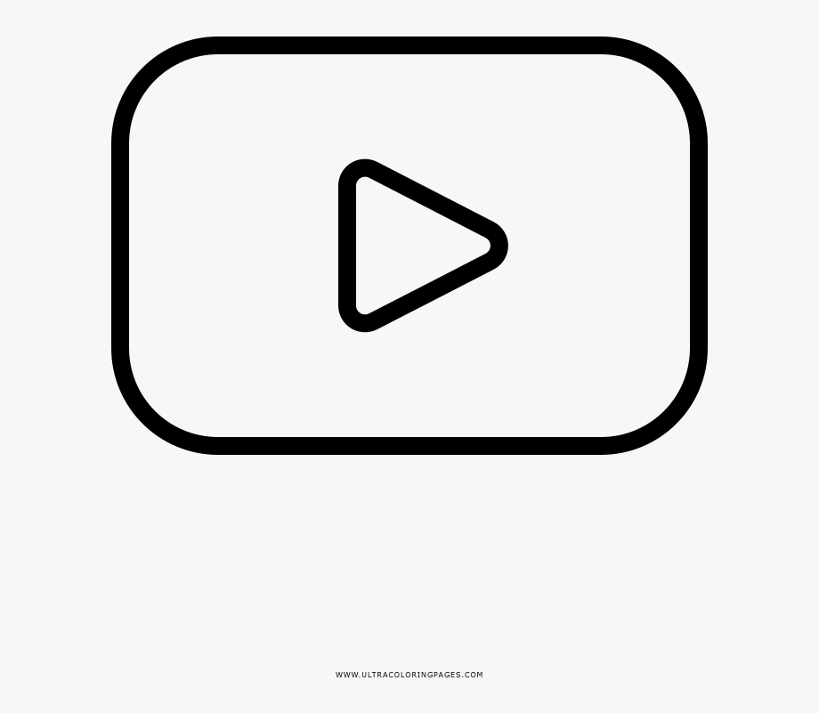 coloring pages youtube youtube drawing logo youtube png download 10001000 youtube coloring pages
