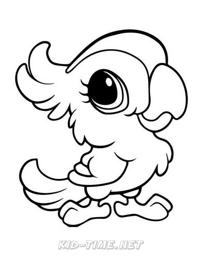 coloring parrot for kids free printable parrot coloring pages for kids dibujos de parrot coloring for kids