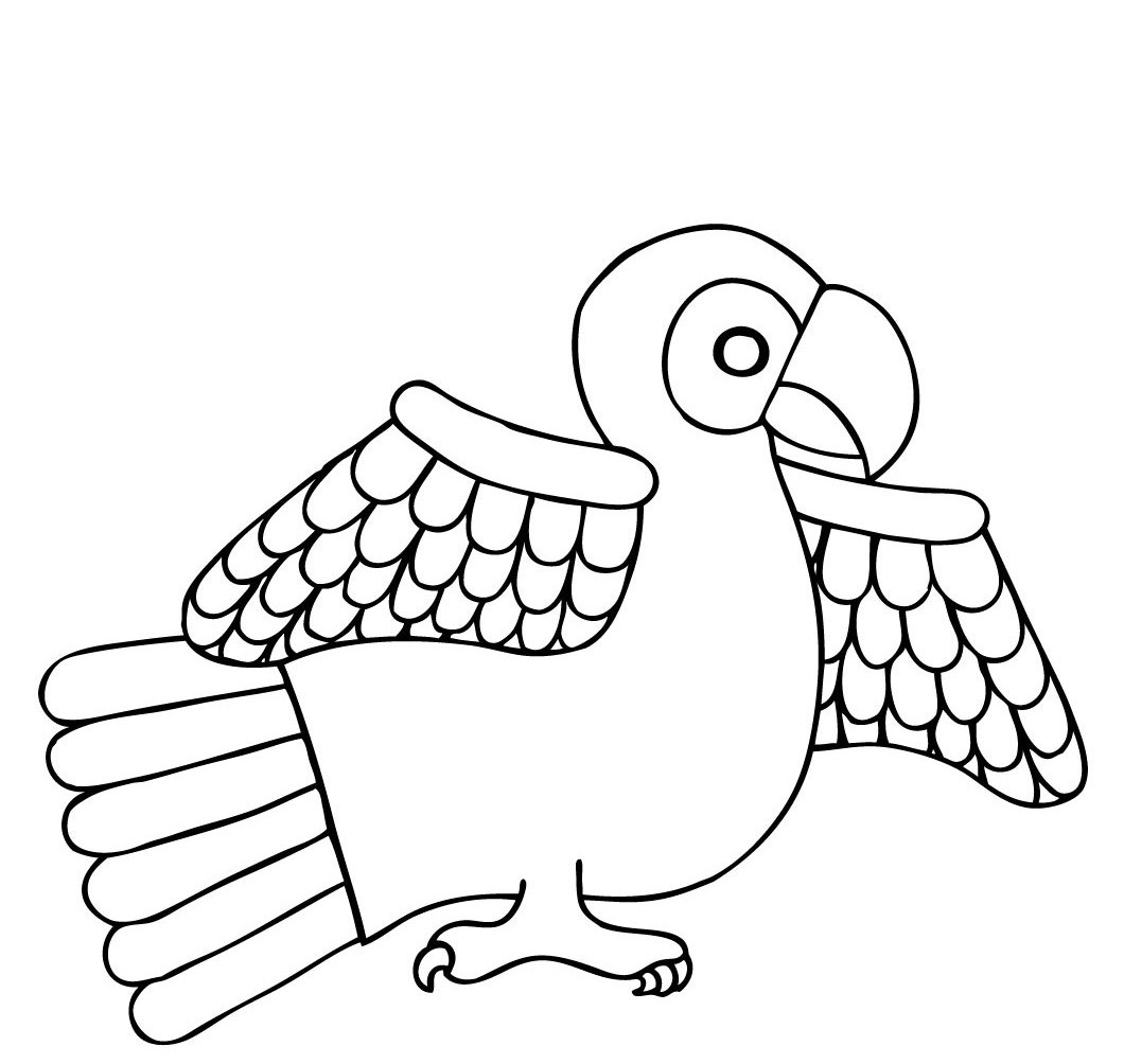 coloring parrot for kids free printable parrot coloring pages for kids for kids parrot coloring