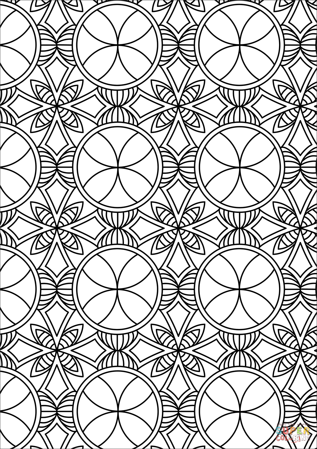 coloring pattern pages doodle abstract seamless ornament coloring page doodle coloring pattern pages