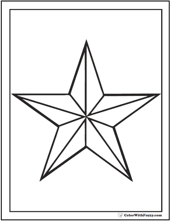 coloring pic of star coloring pic of star pic star coloring of