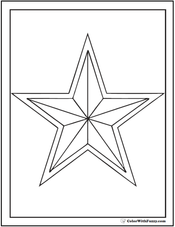 coloring pic of star free printable star coloring pages for kids of coloring pic star