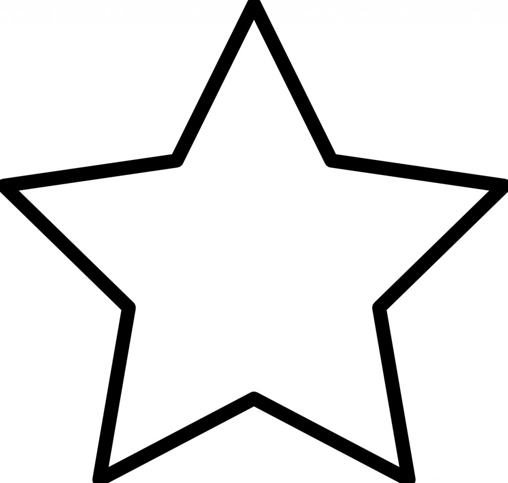 coloring pic of star free printable star coloring pages for kids pic star coloring of