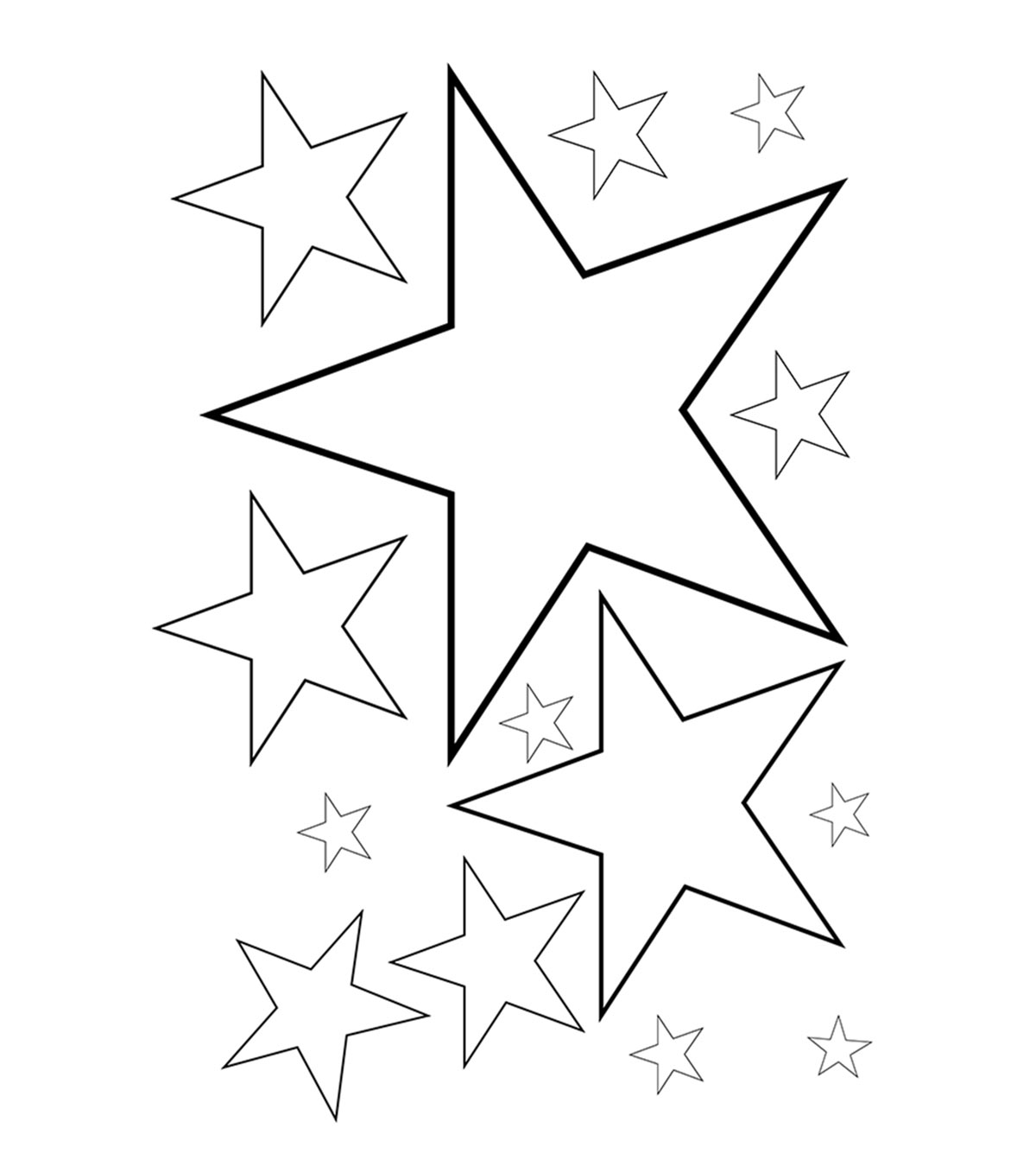 coloring pic of star kindergarten worksheet guide pictures clip art line star of pic coloring