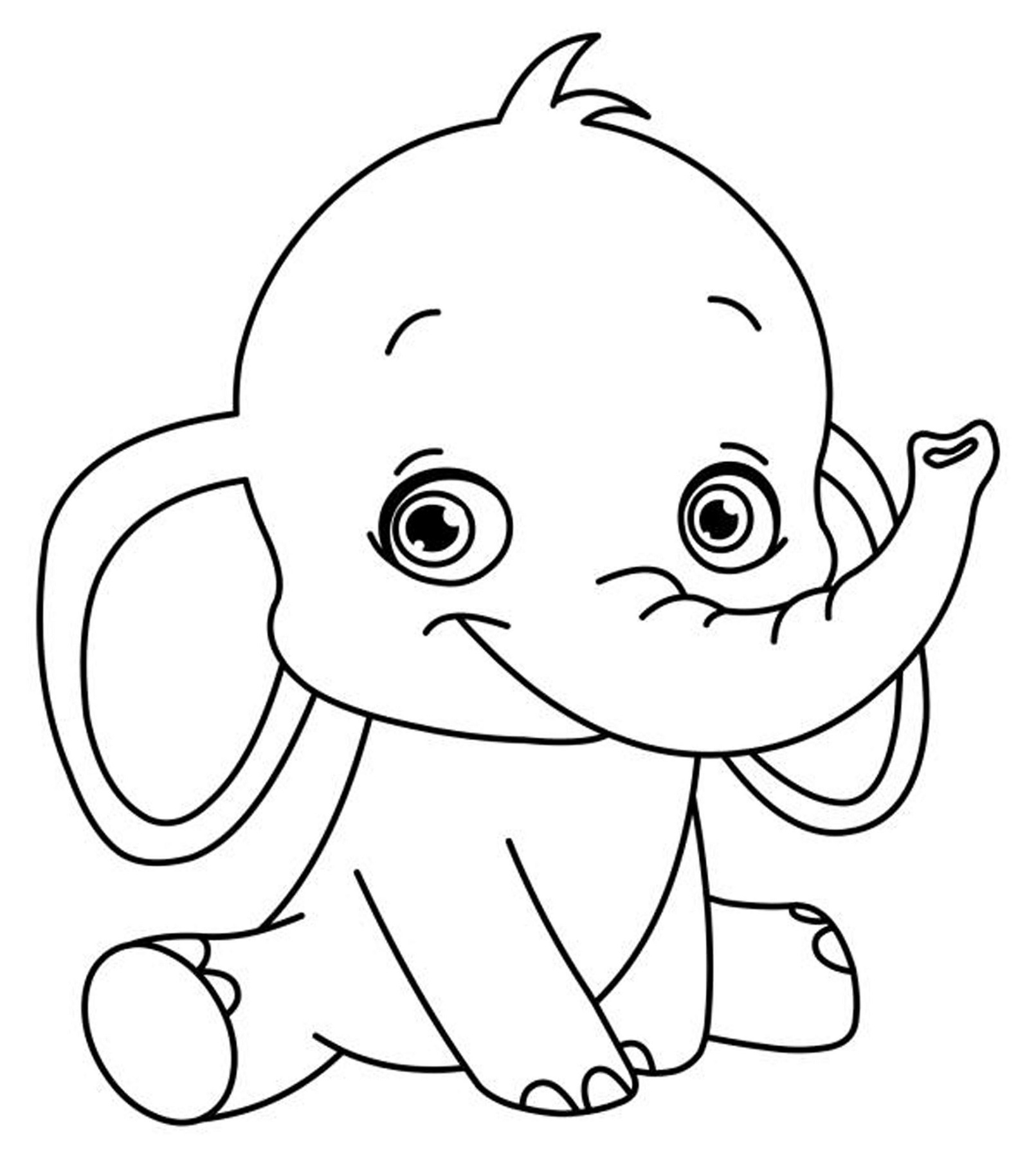 coloring pics of elephant childrens colouring pages to print elephant learning of coloring elephant pics