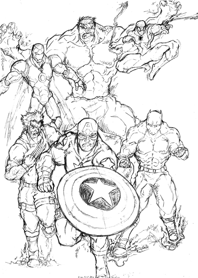coloring picture avengers avengers coloring pages print and colorcom coloring avengers picture