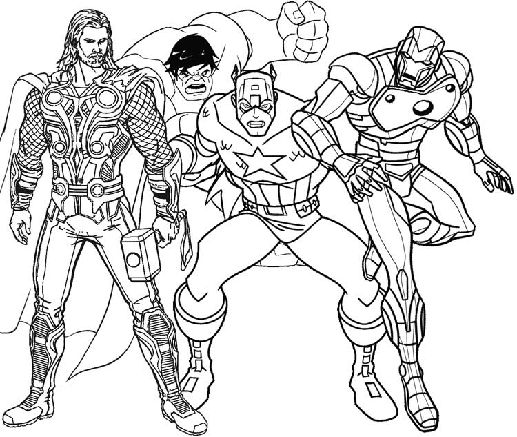coloring picture avengers superhero coloring pages best coloring pages for kids picture avengers coloring