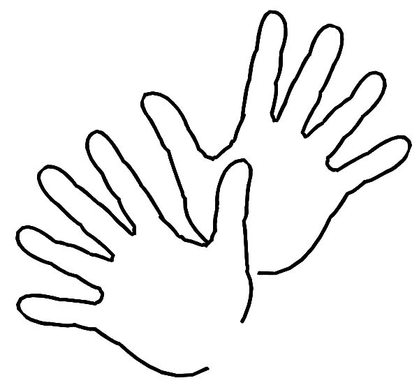 coloring picture hand hand coloring page picture coloring hand