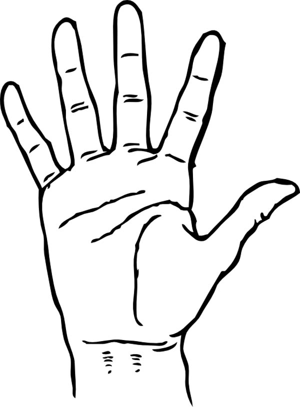 coloring picture hand hand palm facing coloring page coloring sky hand coloring picture