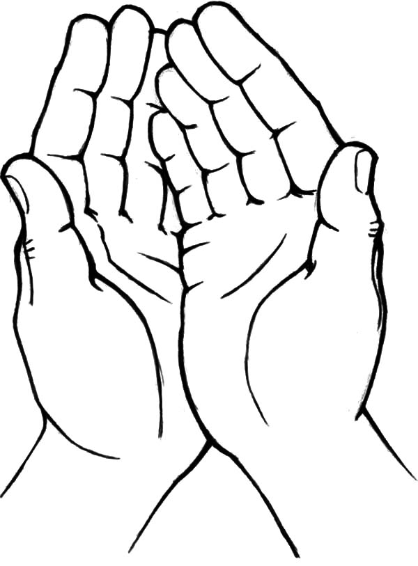 coloring picture hand hand template coloring page hand picture coloring