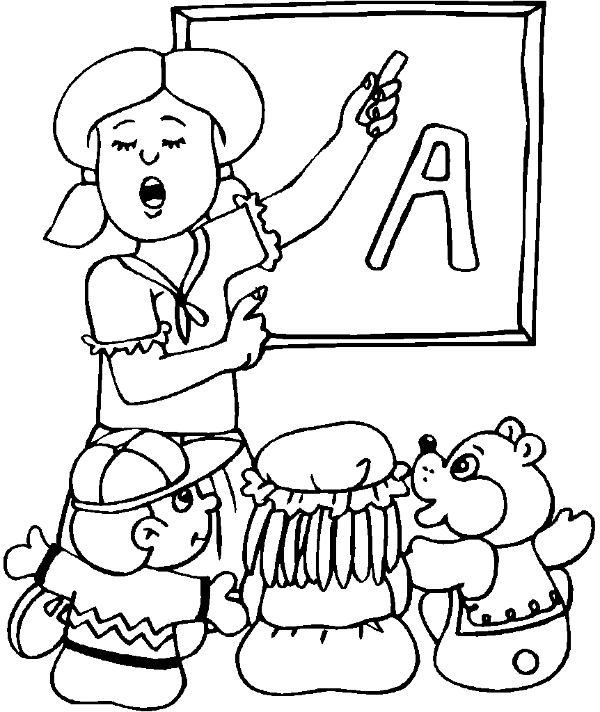 coloring picture kindergarten little painter in kindergarten coloring page coloring sky coloring kindergarten picture