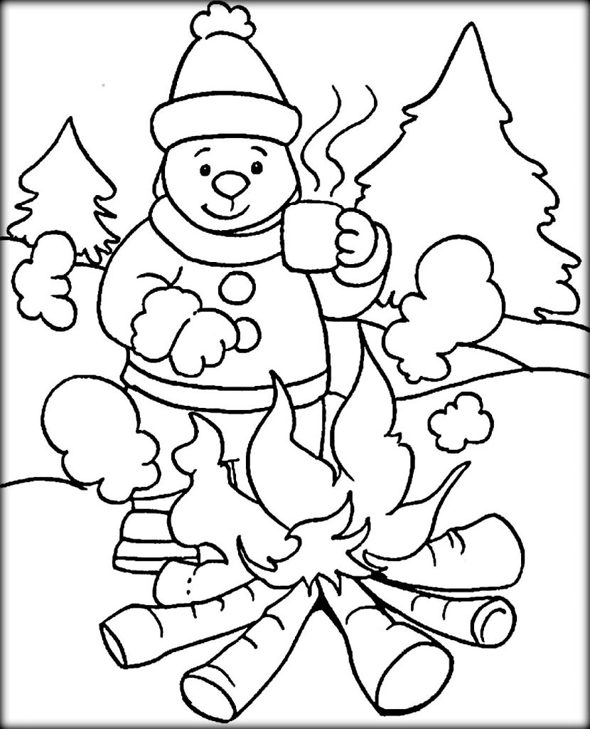 coloring picture kindergarten winter coloring pages kindergarten at getcoloringscom coloring kindergarten picture