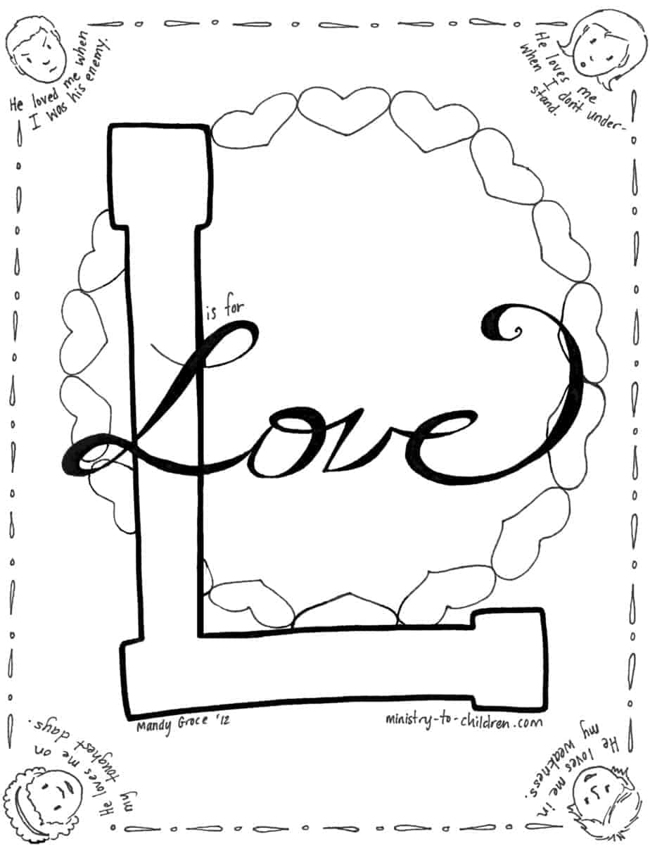 coloring picture love christian valentines day coloring pages about love 100 free coloring love picture 1 1