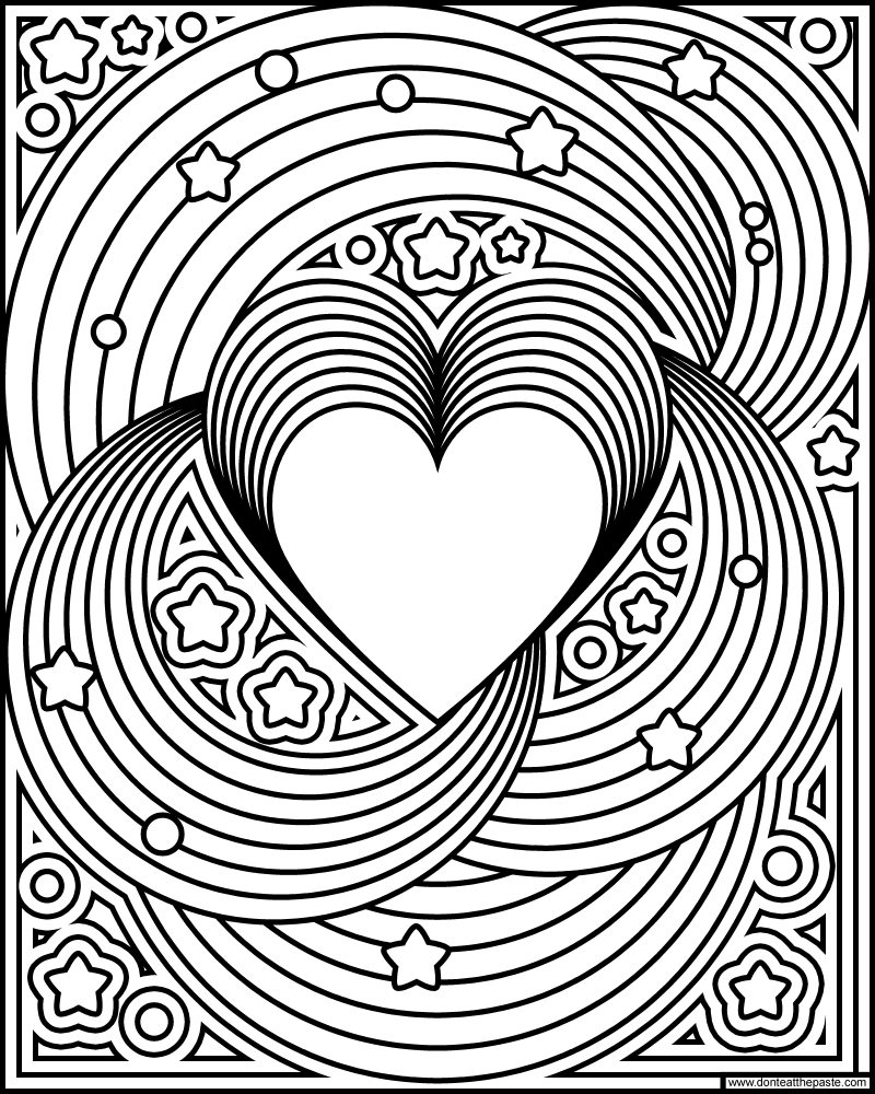 coloring picture love don39t eat the paste rainbow love coloring page picture coloring love