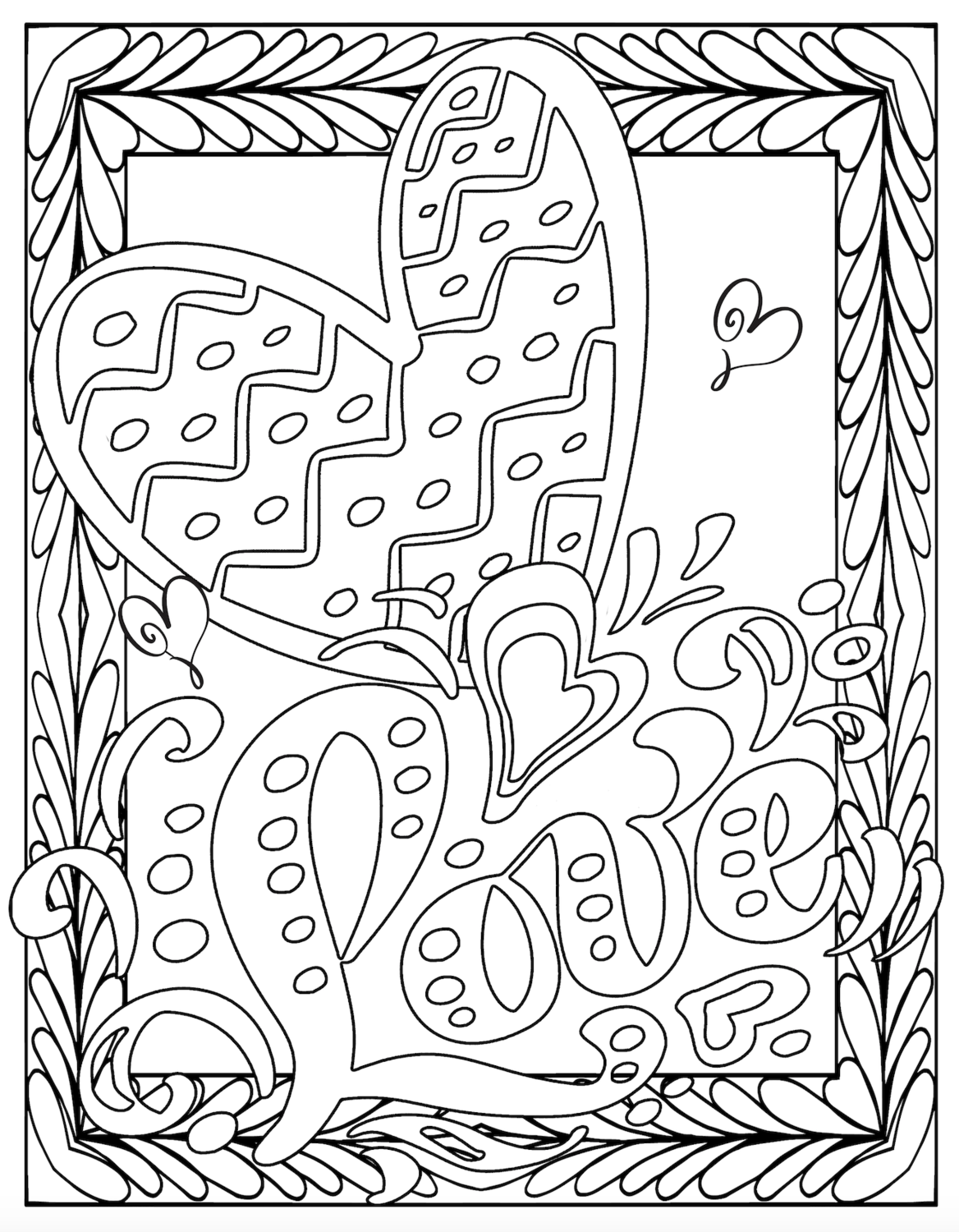 coloring picture love i love you coloring pages to download and print for free love picture coloring