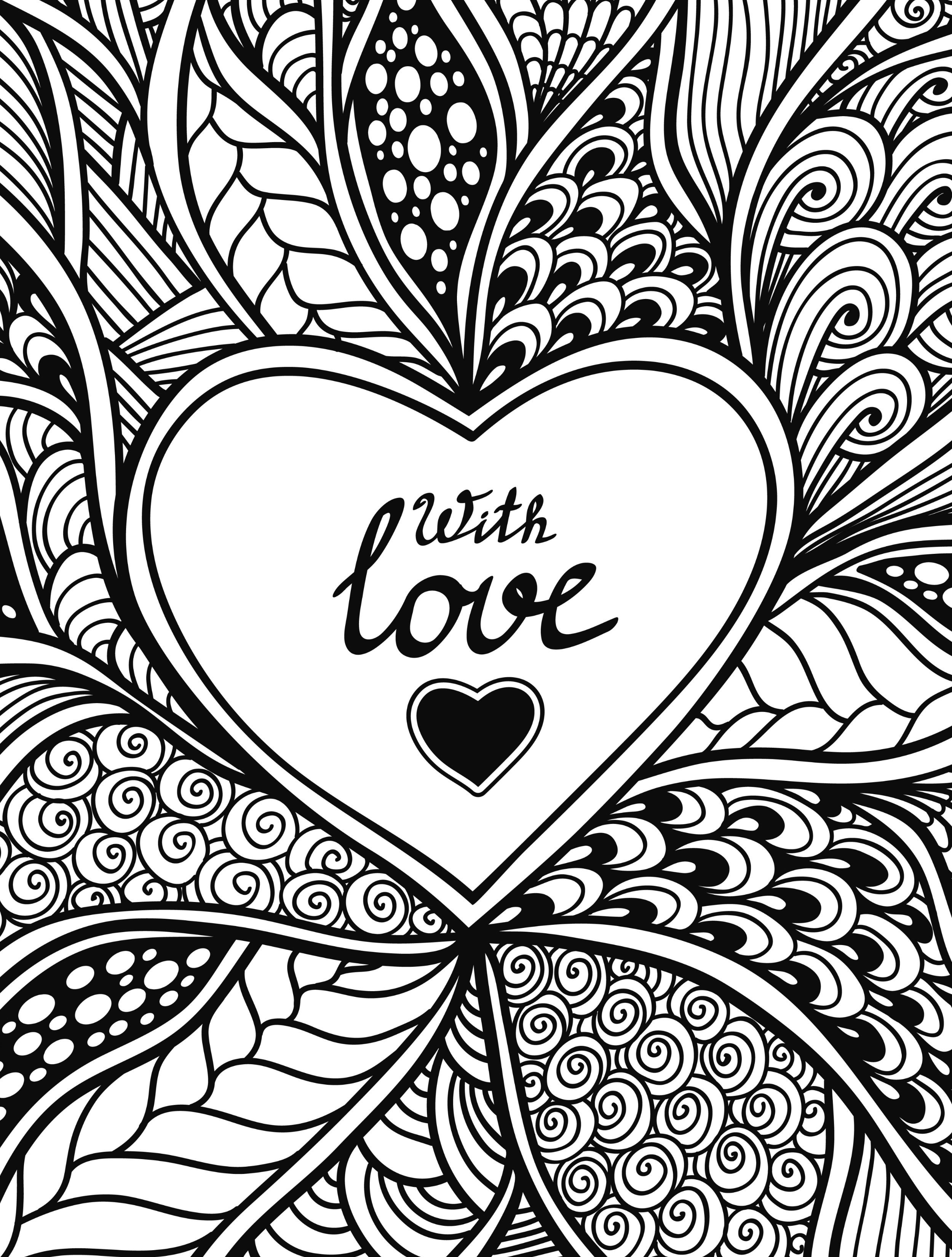 coloring picture love valentines day coloring pages for adults best coloring picture love coloring
