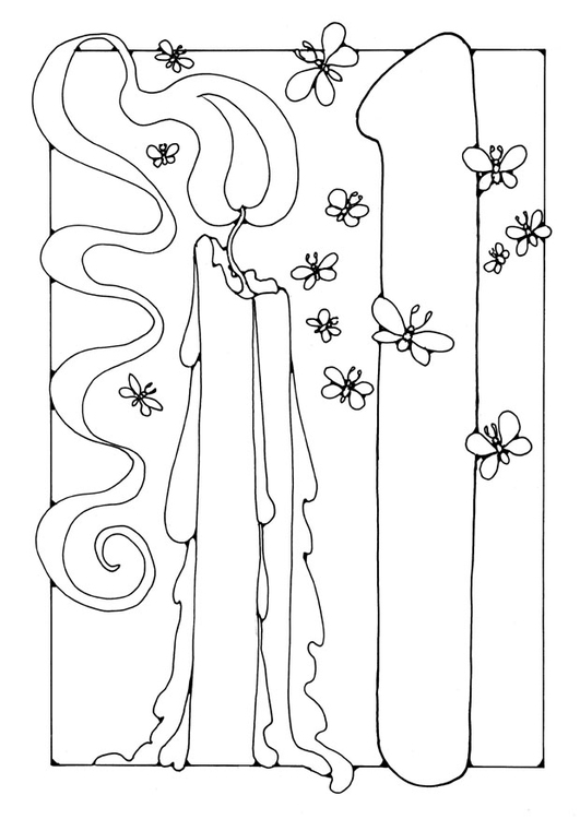 coloring picture number 1 color number 1 1 coloring number picture