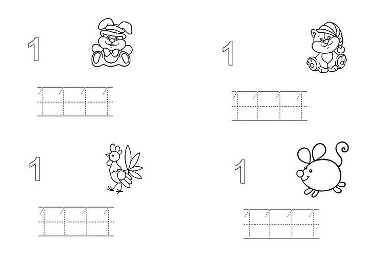 coloring picture number 1 craftsactvities and worksheets for preschooltoddler and number 1 coloring picture