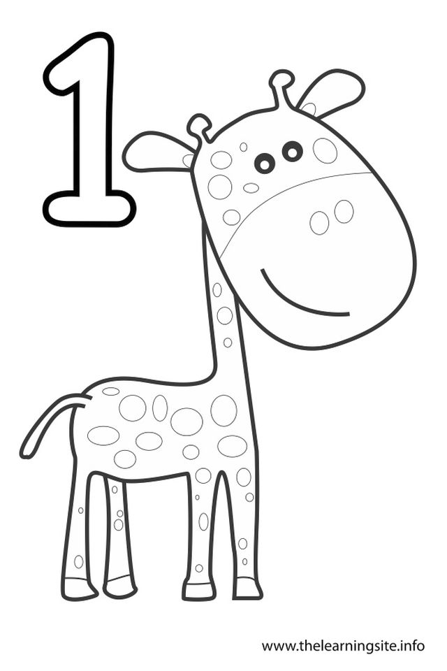 coloring picture number 1 get this number 1 coloring page 16a74 coloring number picture 1