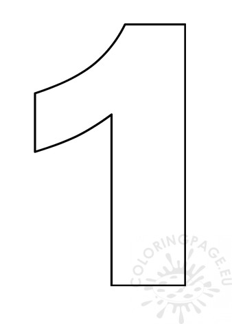 coloring picture number 1 standard letter printables free alphabet coloring page 1 number picture coloring