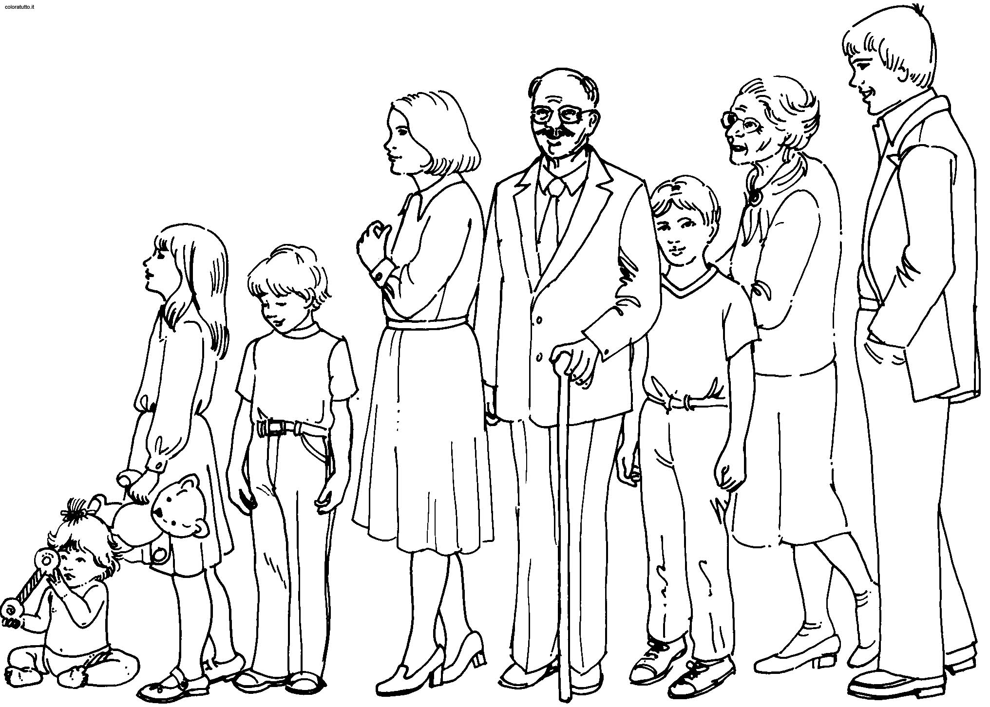 coloring picture of family coloring pages family picture 58 family coloring of picture