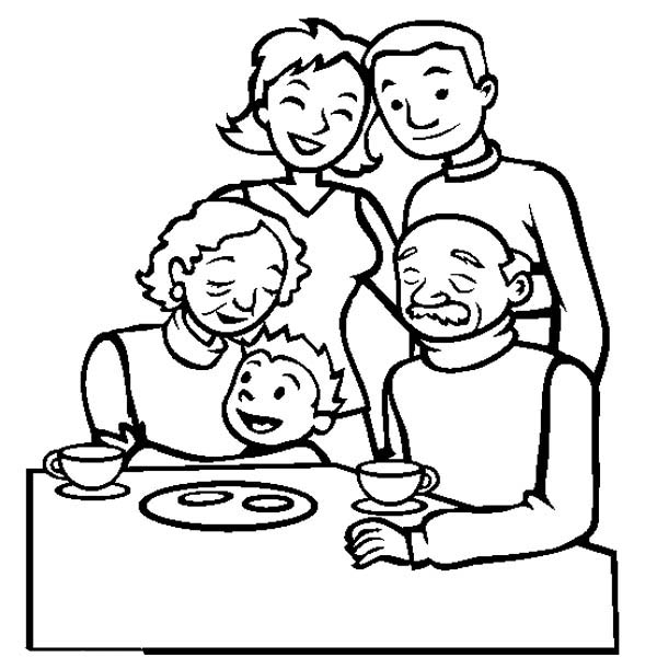 coloring picture of family family gathering coloring page coloring sky of family picture coloring