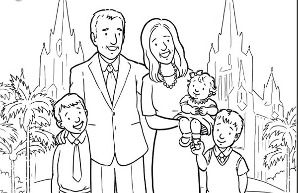 coloring picture of family family holiday picnic coloring pages netart picture of family coloring