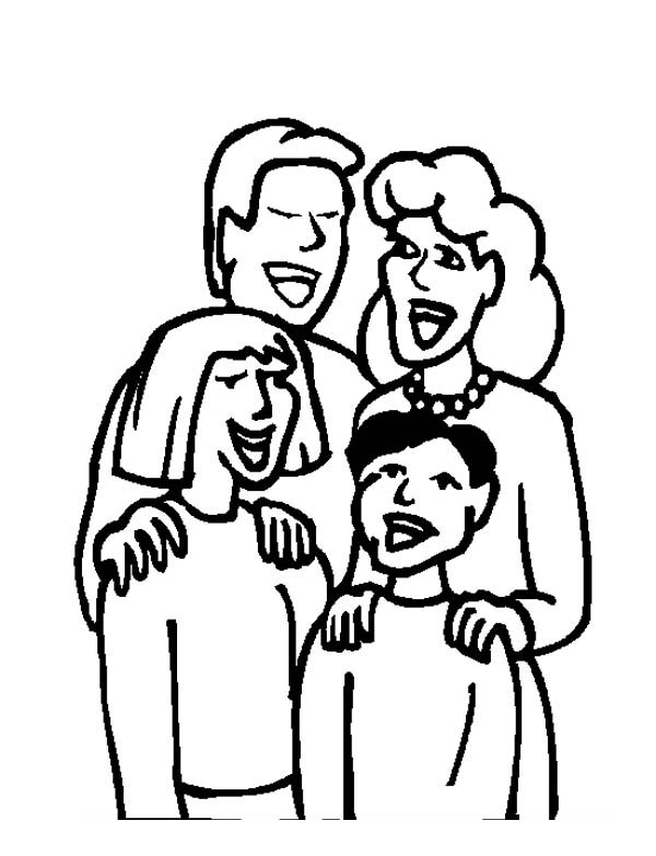 coloring picture of family family taking picture coloring page coloring sky coloring picture of family