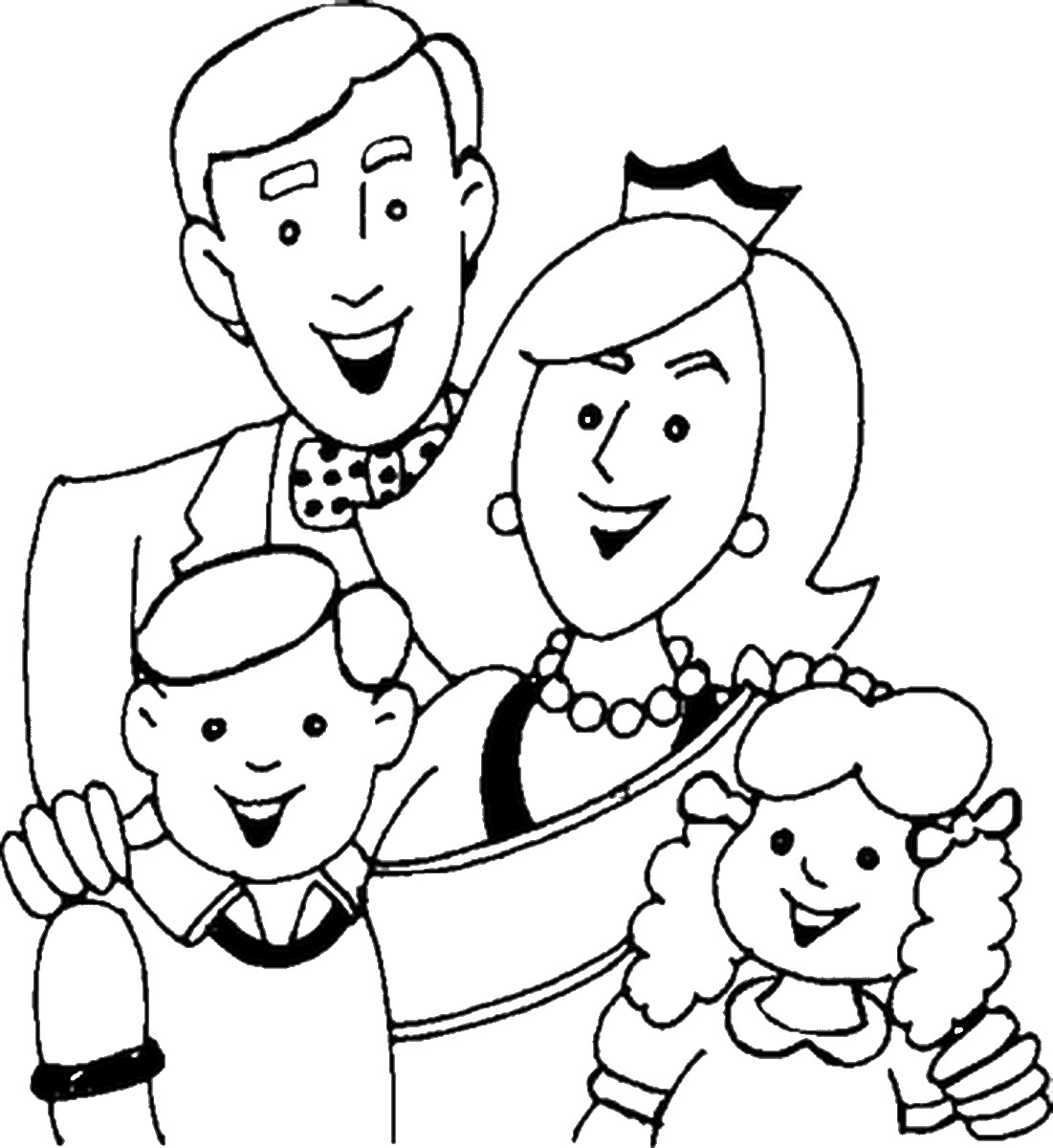 coloring picture of family get this kids39 printable family coloring pages x4lk2 of family picture coloring