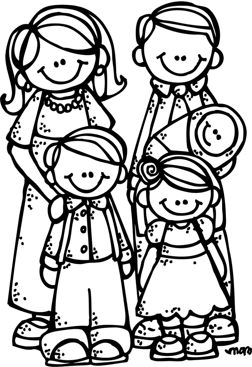 coloring picture of family how to draw a beautiful family coloring page coloring sky picture coloring of family