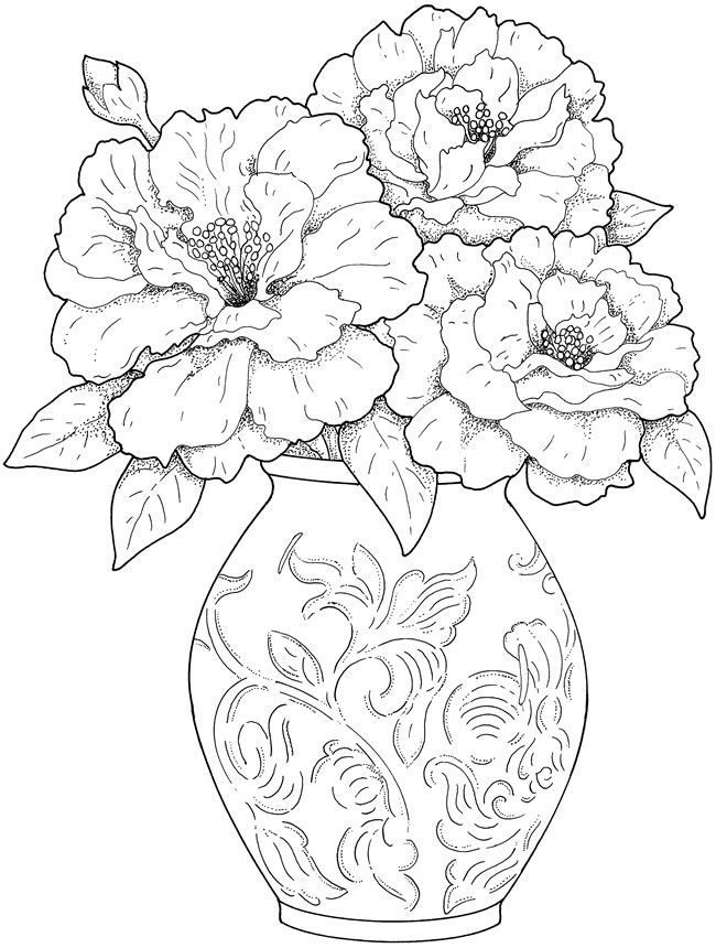 coloring picture of flower flowers printing pages creative children flower picture coloring of