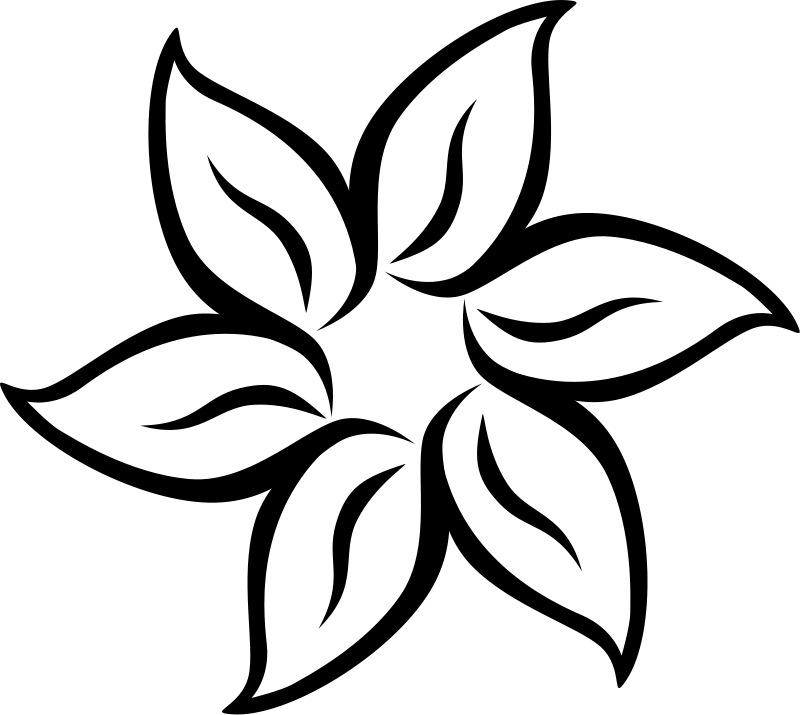 coloring picture of flower free easy to print flower coloring pages tulamama coloring of picture flower