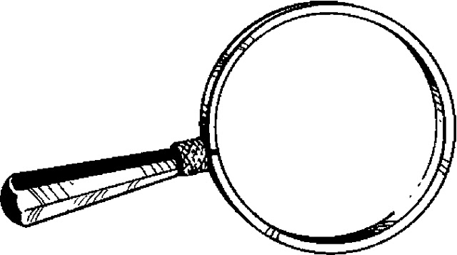coloring picture of magnifying glass coloring magnifying glass coloring of picture